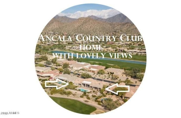 Memberships available through Ancala Country Club - Golf, Fitness, Tennis, Swimming, Social, etc.
