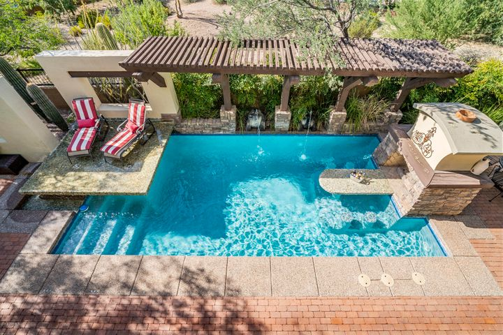 Enjoy entertaining in you private pool oasis.