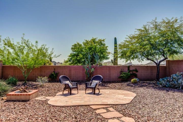 Gorgeous Mountain and Saguaro views from this spacious backyard!