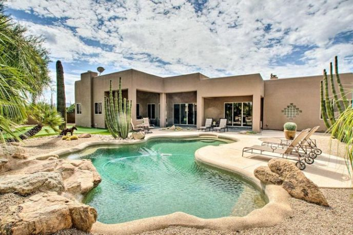 Back Patio and pool