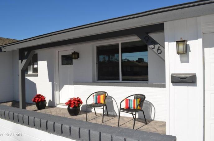 Front porch -