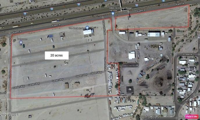 1055 W Kuehn Street, Quartzsite, AZ 85346