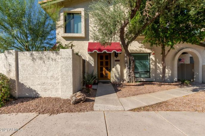 Beautiful, remodeled home on corner lot w/cherished street parking for visitors and guests.