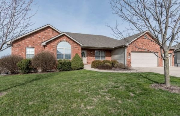 BEAUTIFULLY UPDATED walk out ranch w/ 5 bedrooms & 3 full baths. New in 2017: hardwood floors on main level, engineered hardwood floors on lower level, 16x26 cedar deck and deck steps, all kitchen appliances. Media Room and 5th bedroom also added last year. Kitchen features large island, granite counter tops, slate back-splash and walk-in pantry. Master Bedroom features en suite bath with jetted tub & walk-in shower, double vanity plus a huge walk-in closet. Wood privacy fenced backyard, lower level patio and 3 car garage.
