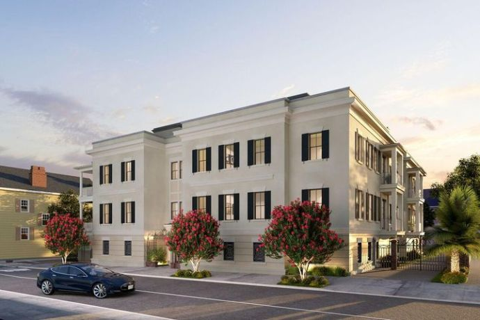 Introducing Historic Charleston's new distinctive address, Harleston Gates. With just four flats and four penthouses available, these compelling boutique residences showcase the very best of elegant contemporary living, within a classically inspired framework.