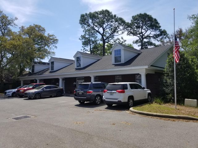 This class A office complex is being sold as a Fully Leased investment property. It consists of two buildings (approximately 5400 sqft each) divided into three suites each. The complex is conveniently located between Eglin and Hurlburt Air Force bases and is in close proximity to the new Okaloosa County Judicial Center, Okaloosa County Water Department, FWB Medical Center, NWF State College, and University of West Florida. Okaloosa County Fairgrounds and FWB Golf Course are next door as well. The tenant mix includes two attorney practices, a financial advisor, and a court reporters' office. The complex was developed in 2008 and has many great features ranging from prewired alarm systems and large air-conditioned storage areas in each suite to lighted signage on Lewis Turner Blvd.
