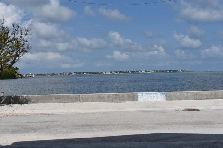 Beautiful open water ocean view