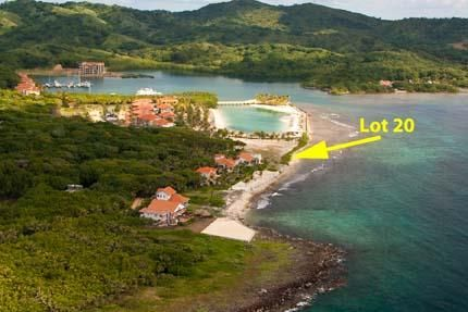 Plantation, Beachfront Lot 20- Parrot Tree, Roatan,