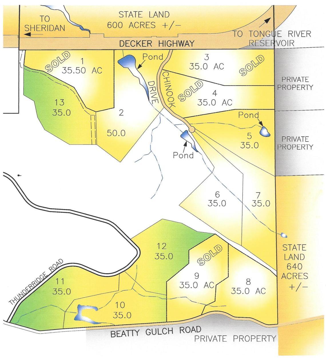 Tract 13 Decker Road, Sheridan, WY 82801