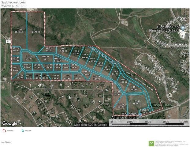 SaddleCrest Drive, (Lot 23), Sheridan, WY 82801