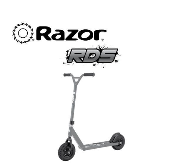 Razor RDS All Terrain Dirt Scooter with Rugged 60 psi