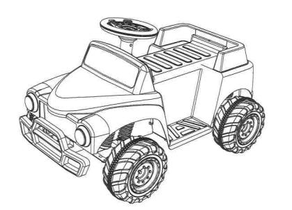 Monster Jam Grave Digger 6-Volt Battery Powered Ride-On