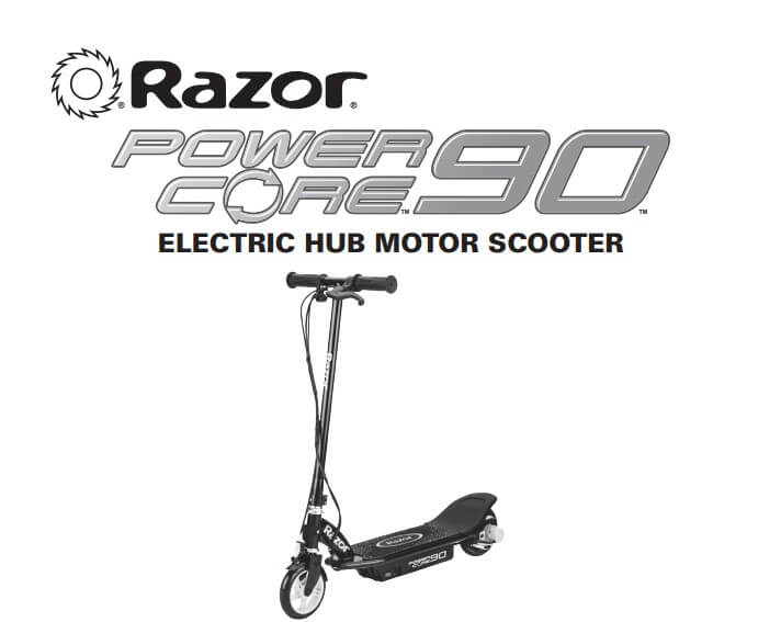 Razor Power Core 90 Electric-Powered Scooter with Rear
