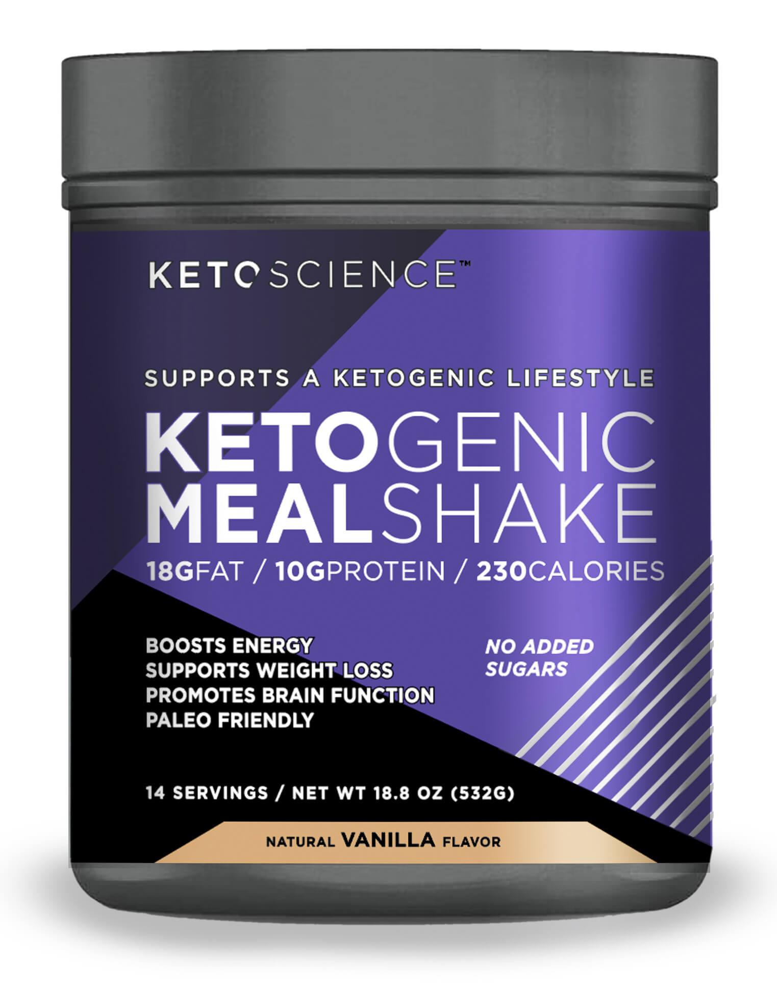 Weight Loss Shakes At Walmart : weight, shakes, walmart, Science, Ketogenic, Shake, Vanilla, Dietary, Supplement,, Replacement,, Weight, Loss,, Intermittent, Fasting,, Servings, Walmart.com