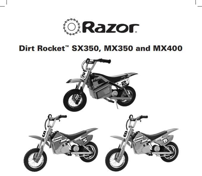 Razor MX350 24-Volt Dirt Rocket Electric Motocross Bike