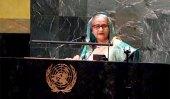 রোহিঙ্গা প্রত্যাবর্তনে আন্তর্জাতিক সম্প্রদায়ের জোরালো ভূমিকা চাইলেন শেখ হাসিনা