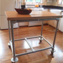 Diy Rolling Kitchen Island Drawer Hardware 20 Islands To Complete Your Ritely