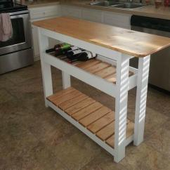 How To Build A Kitchen Island With Seating Rohl Sinks 20 Diy Islands Complete Your Ritely