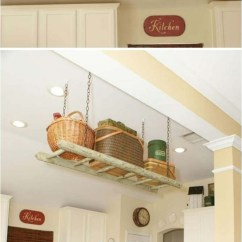 Shelves For Kitchen Exhaust Hood 31 Diy Hanging Perfect Every Room In Your Home Ritely