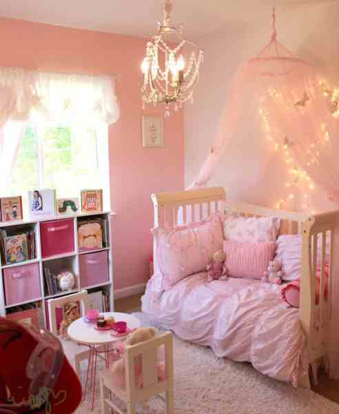 little girl princess bedroom ideas 32 Cheery Designs for a Little Girl's Dream Bedroom - Ritely
