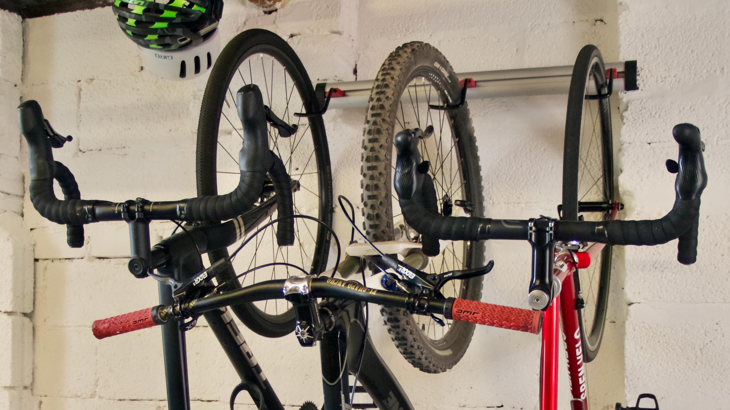 review pro bike tool 3 bike wall rack