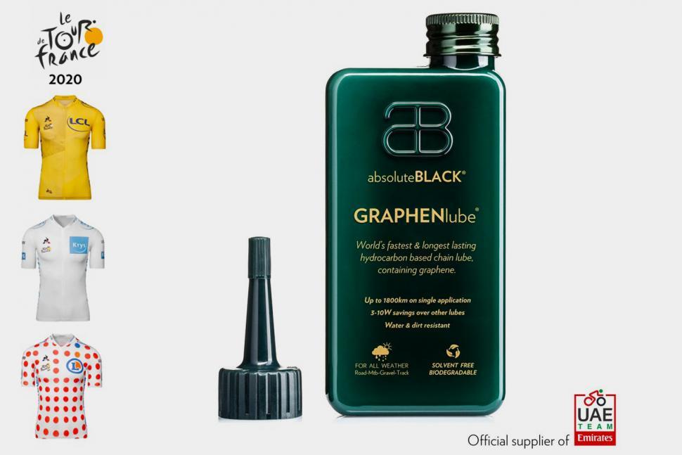 Win 1 of ten bottles of absoluteBLACK GRAPHENlube, total prize value £1149.90!