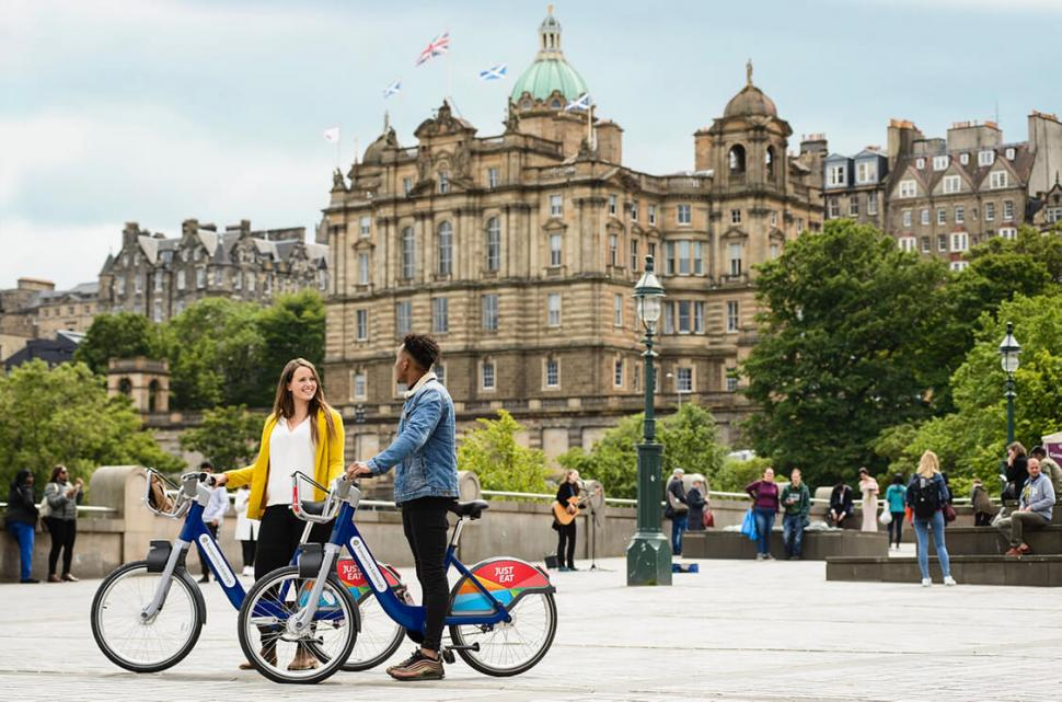 Cycling's modal share in Scotland up fivefold during lockdown
