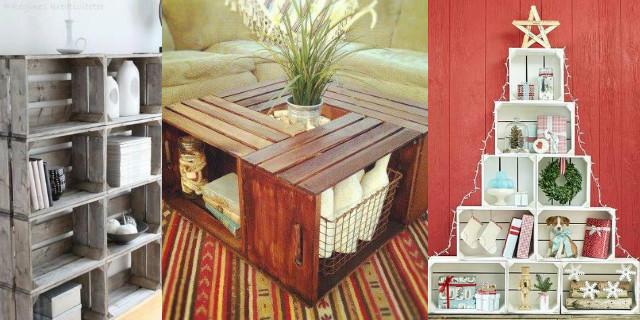 Arredare con le cassette di legno  Roba da Donne