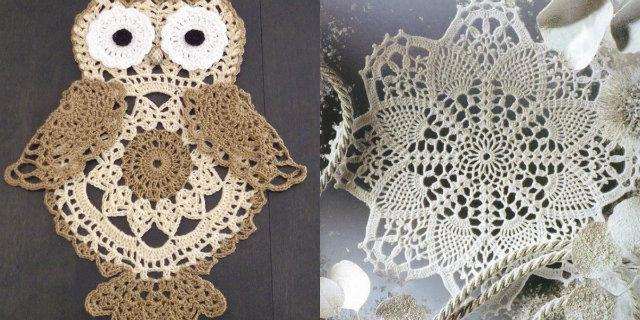 Centrini uncinetto fatti contagiare dalla crochet mania