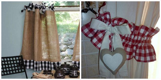Tende da cucina fai da te 3 bellissime idee  Roba da Donne