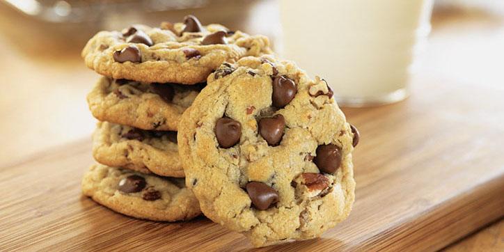 Ricetta Cookies Americani con Gocce di Cioccolato  Roba da Donne