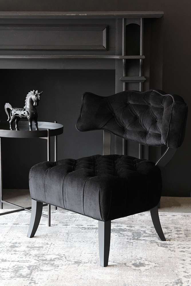 black velvet chair mustard yellow covers cloud back to from rockett st george