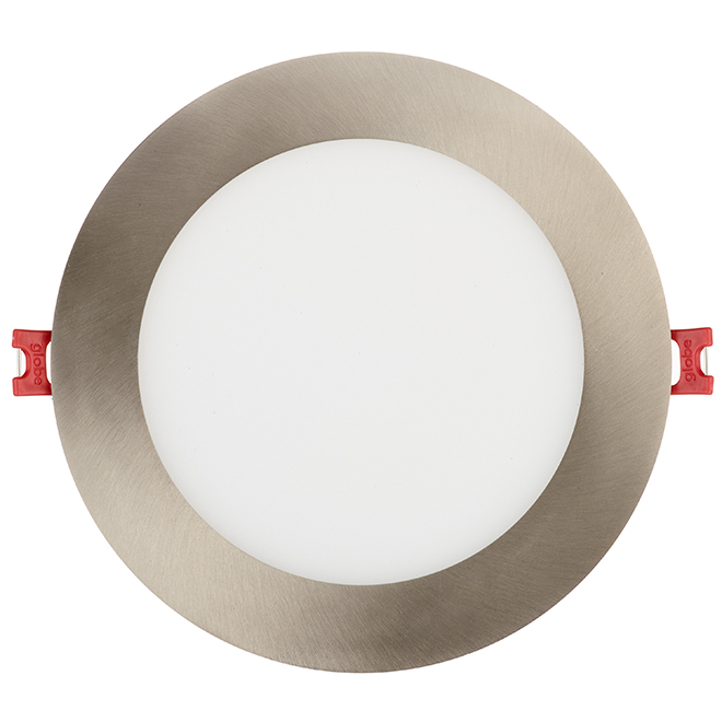 dimmable recessed light slim 12w led brushed nickel