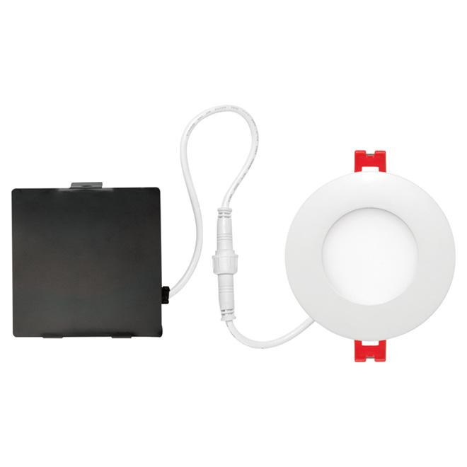 ultra slim recessed light led 3 6 w white