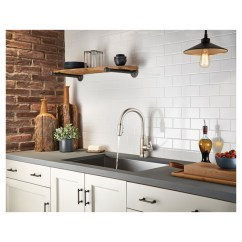 Dispenser Kitchen Pvc Cabinets Pfister Faucet With Soap 1 Handle Stainless