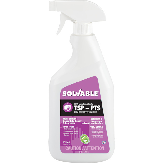 solvable tsp ready to use 625 ml