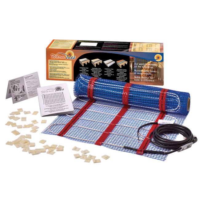 warm tiles r floor warming mat kit 20 x 6 67