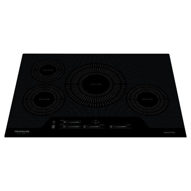 frigidaire gallery surface de cuisson encastree a induction 30 noir fgic3066tb rona
