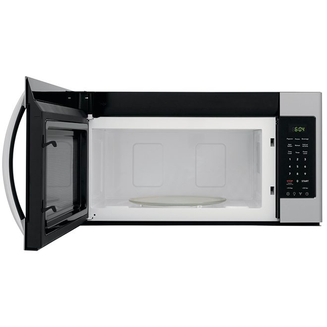 frigidaire over the range microwave oven 1 8 cu ft ss