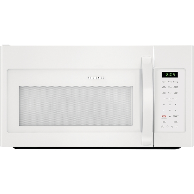 30 over the range microwave oven 1 8 cu ft 1000 w white