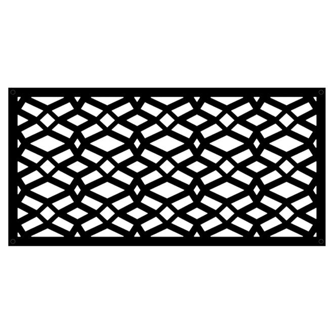 panneau decoratif d exterieur celtic 2 x 4 phd noir