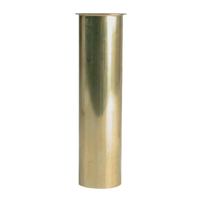 sink tailpiece brass flanged 1 1 2 x 6