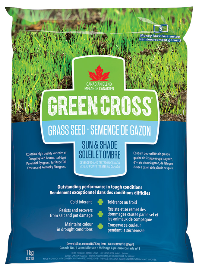 Thick R Lawn Lowes : thick, lowes, GREEN, CROSS, Scotts(R), Grass, Shade, 20246-1