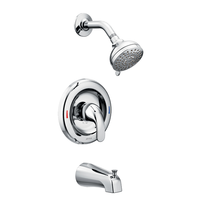 adler 1 handle tub and shower faucet
