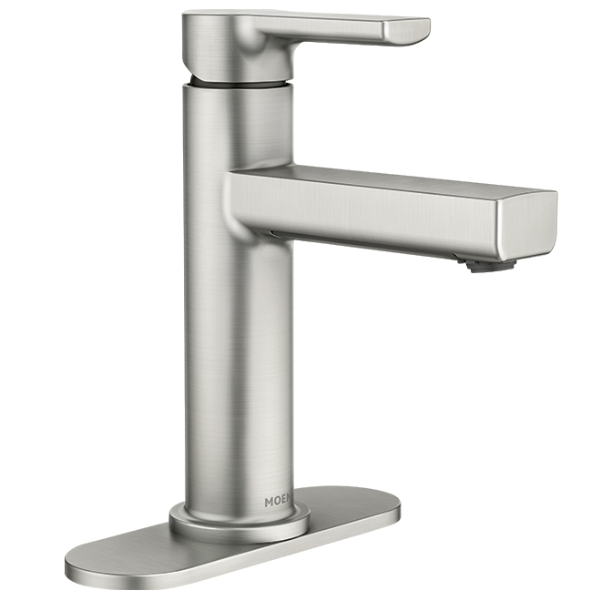 lavatory faucet rinza 1 handle brushed nickel