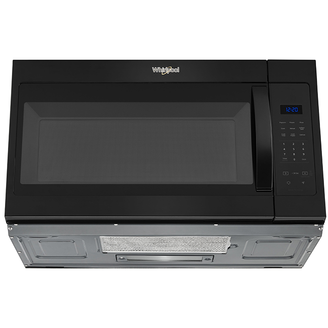 over the range microwave oven 1 7 cu ft 900 w black