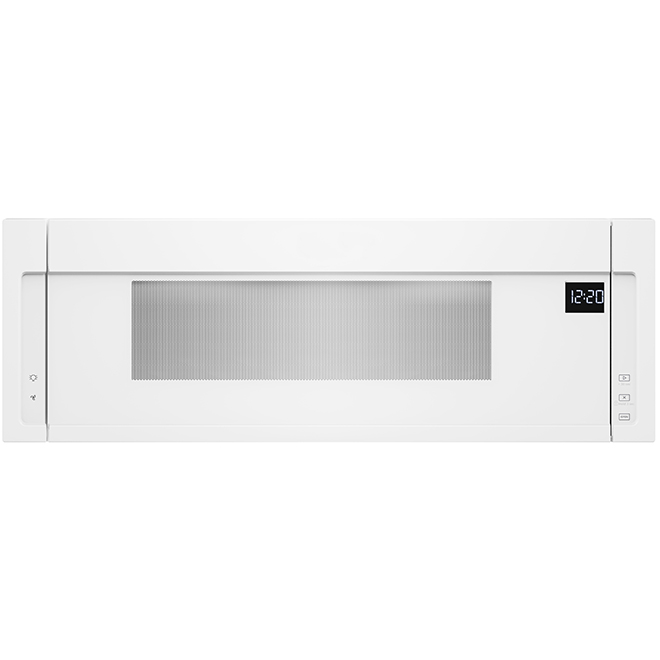 over the range microwave oven 1 1 cu ft 900 w white