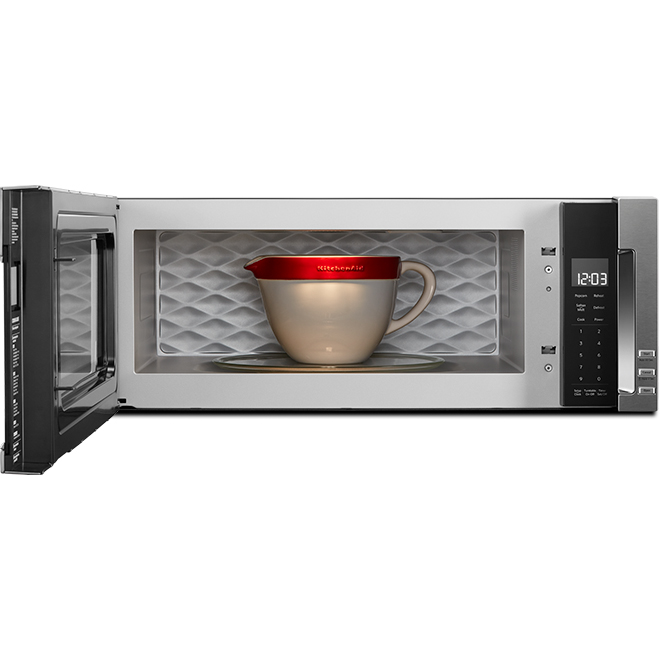 over the range microwave 1 1 cu ft 500 cfm stainless