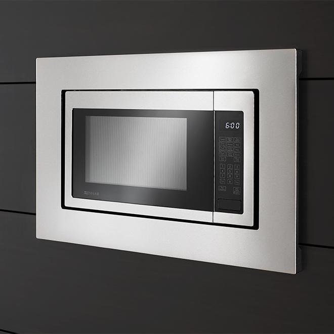 whirlpool tm microwave oven trim kit 30 stainless steel