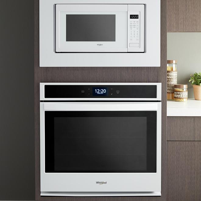 microwave trim kit 27 white